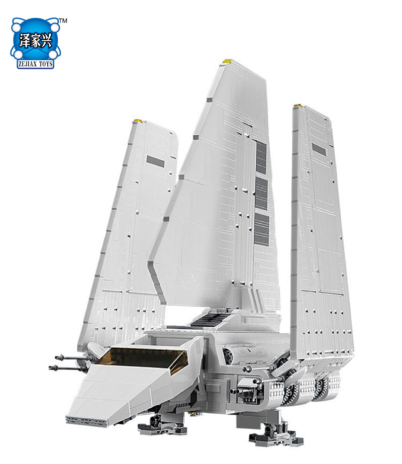 2503 pcs Star Space War Series The Imperial Shuttle Lepines Building Blocks Bricks Figures Assembled Toys gift gipfel indigent 2503