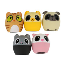 2018 New Mini Animal Bluetooth Speaker Portable Audio Cartoon Outdoor Support Self Timer Handsfree Music Player Lound speaker