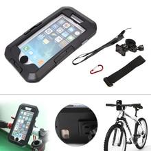1 Компл. Водонепроницаемый Открытый Велосипед Мотоциклов Велосипедное Крепление Дело Держатель для iPhone7/7 Плюс
