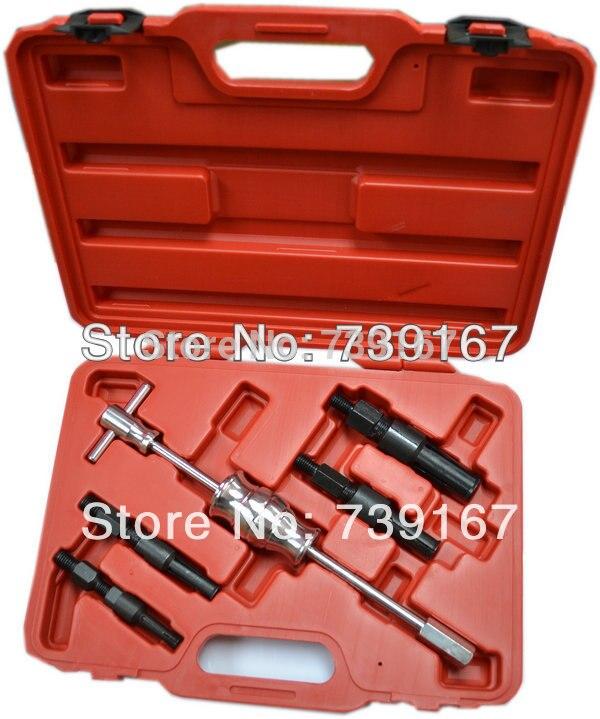 5Pcs Blind Hole Pilot Bearing Puller Slide Hammer Removal Tool Kit Set