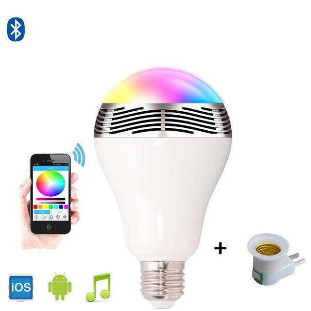 Mini draadloze bluetooth speaker WIFI APP smart lamp speakers RGB ...