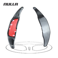 Carbon Fiber Steering Wheel Shift Paddle Extension Shifters For Benz AMG A45 CLA45 C63 S63 GLA45