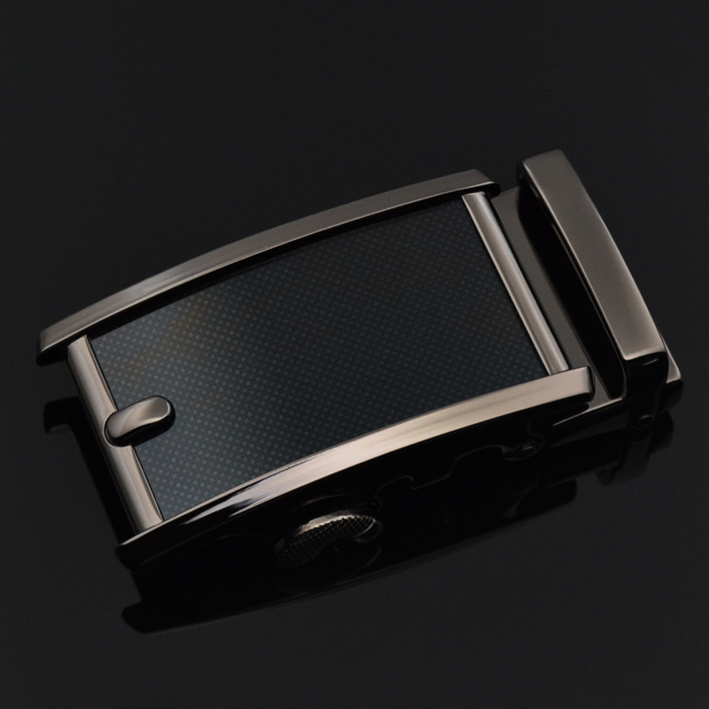 Designer High Quality Belt Buckle For Men Alloy Material Fashion Male Brand Fit 3.5cm Leather Ratchet Belt CE25-1215