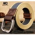 MEDYLA cinturones para hombres nueva rayas adulto casuales de los hombres  de Cintos para mujeres 2cb517a089fc