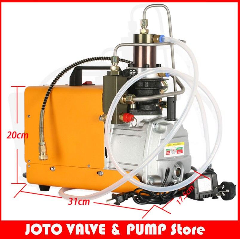 Высокая Давление воздушный насос водяного охлаждения Электрический Мини Надувное pcp воздушный компрессор 220 В