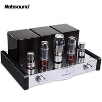 Nobsound MS 50D Bluetooth 4.0 APT X Power Amplifier Class A Single Ended EL34B Vacuum Tube Hi Fi Stereo Lossless Audio Amplifier