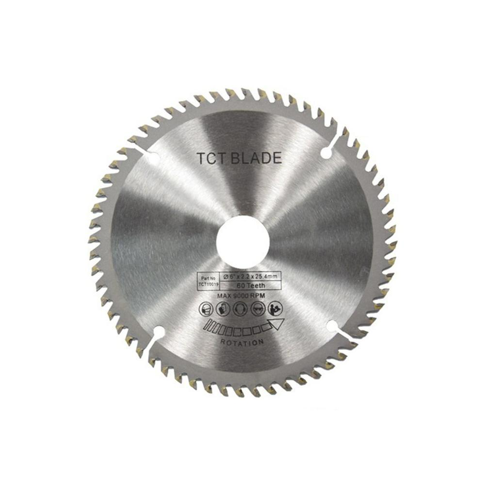 60 Teeth TCT Circular Saw Blade Wheel Discs TCT Alloy Woodworking Multifunctional Saw Blade For Wood Metal Cutting 148x25.4MM