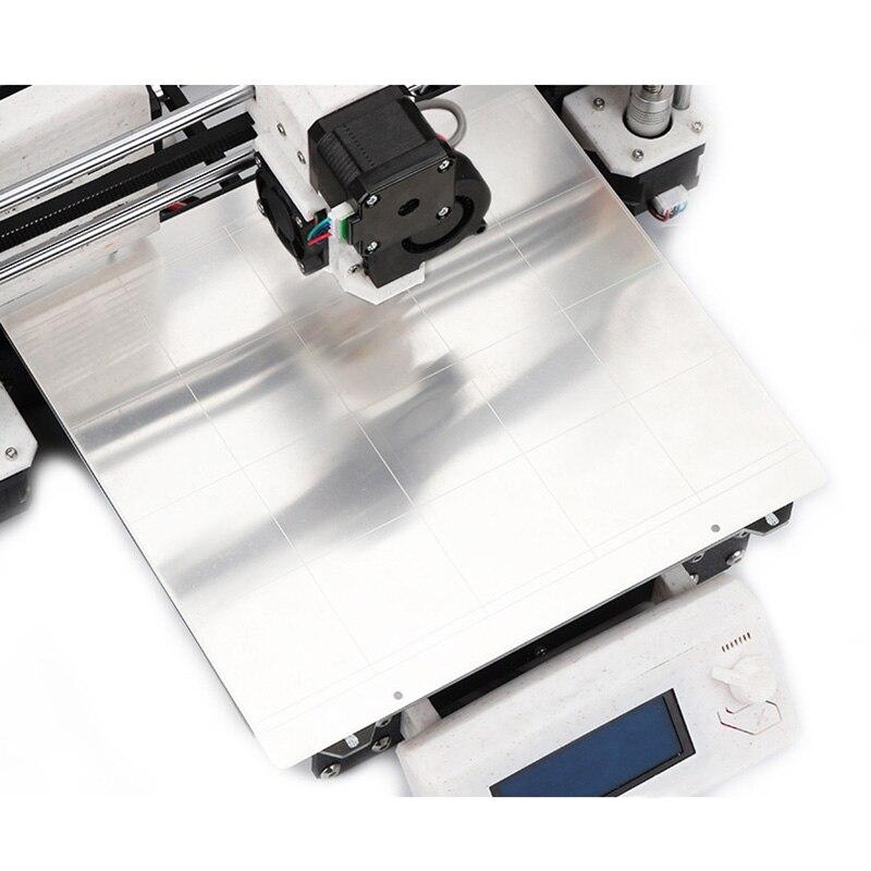 Tôle D'acier à ressort Chaleur Lit Plate-Forme Buildplate + 2 pièces Feuille de PEI Pour Prusa i3 Mk3 Mk2.5 SL @ 88