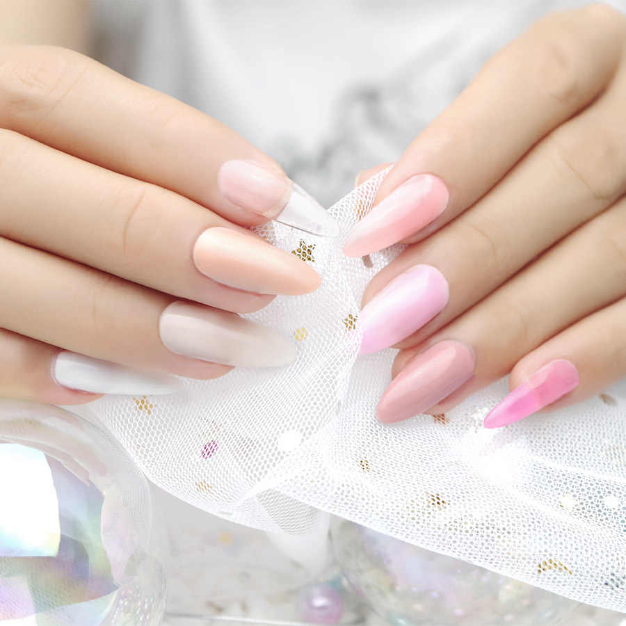 Professionele Roze Clear Color UV Gel Nail UV Builder Gel Transparante Nail Art Manicure Lijm Hoge Kwaliteit Franse Tips Extension