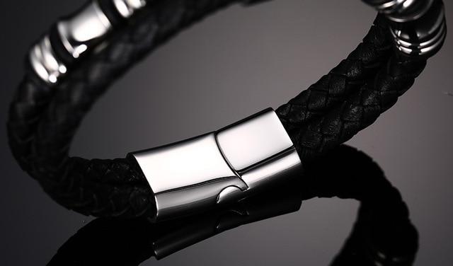 Купить 2020 модный мужской браслет черные ювелирные изделия из искусственной картинки