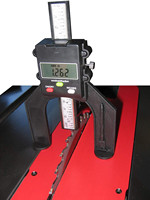 Mini Digital Height Gauge Fence Rule Repeat Setting Measure Slot Flat Hand Tools Multifunction Digital Height Measuring Tools#es