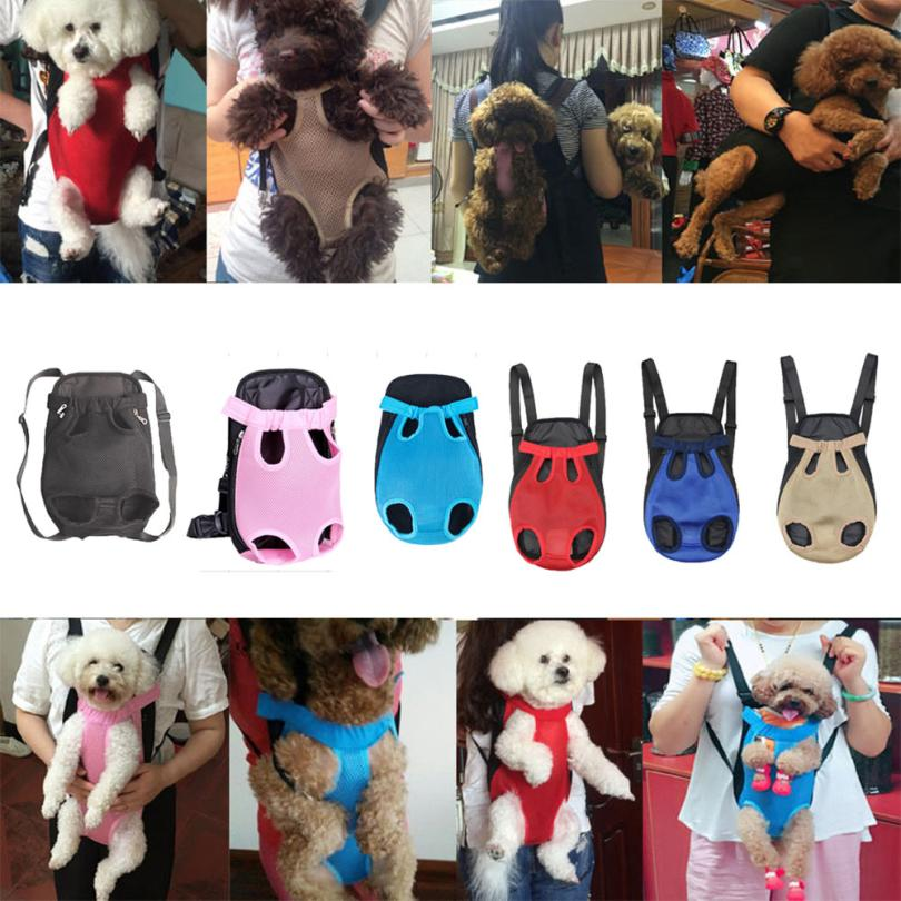 Transer Newest Hot Nylon Mesh Pet Puppy Dog Cat Carrier Backpack Front Net Bag Tote Sling Carrier Freeshipping 18Mar13