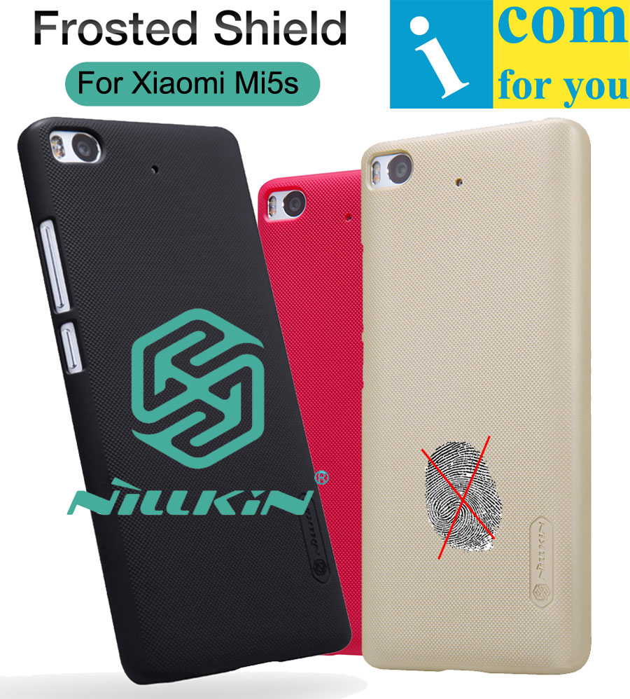 Nillkin Frosted Protector Cover Case For Xiaomi Mi5s Snapdragon 821 Plastic Hard Back Protective shell Shield