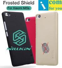 Nillkin Матовый Протектор Крышки Случая Для Xiaomi Mi5s Snapdragon 821 Пластик Жесткий Назад защитный Щит
