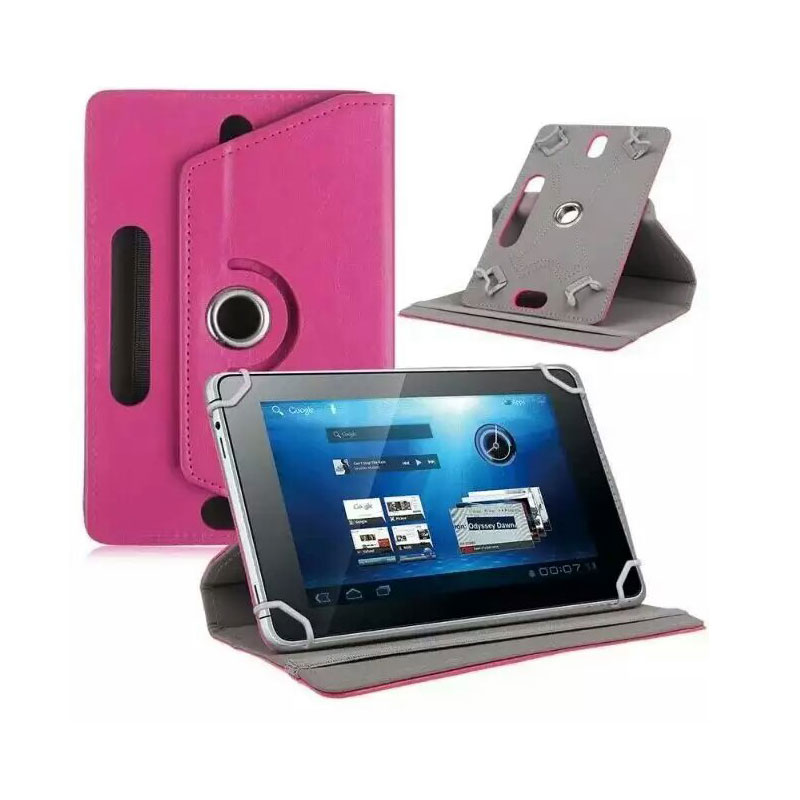 For SUPRA M143/M127G/M147G/M142G/M143G/M121G/M141G/M14BG 10.1 360 Degree Rotating Universal Tablet PU Leather cover case