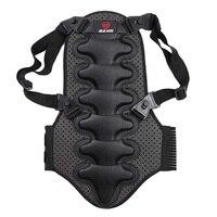 Man Back Support Vest Posture Corrector Protection Moto Bike Body Rear Back Protective Ski Body Deportment Spine Bandage
