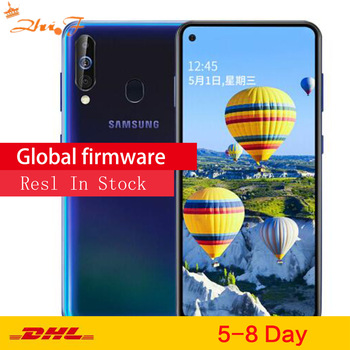 Перейти на Алиэкспресс и купить Samsung Galaxy A60 A6060 LTE мобильный телефон 6,3 дюйм6G ram 64 Гб rom Snapdragon 675 Восьмиядерный 32,0 Мп задняя камера телефон