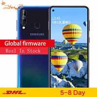 Samsung Galaxy A60 A6060 LTE téléphone portable 6.3 6G RAM 64GB ROM Snapdragon 675 Octa Core 32.0MP caméra arrière téléphone