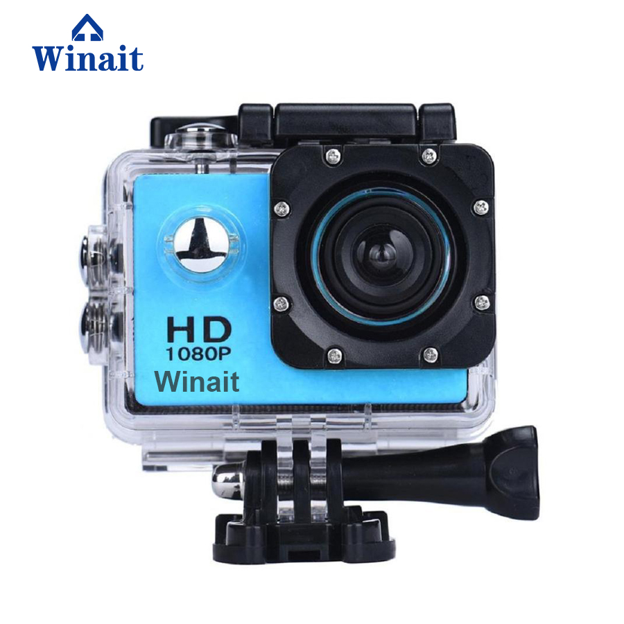 2017 winait hot selling cheap action sports camera A7 micro sd card max support 32GB