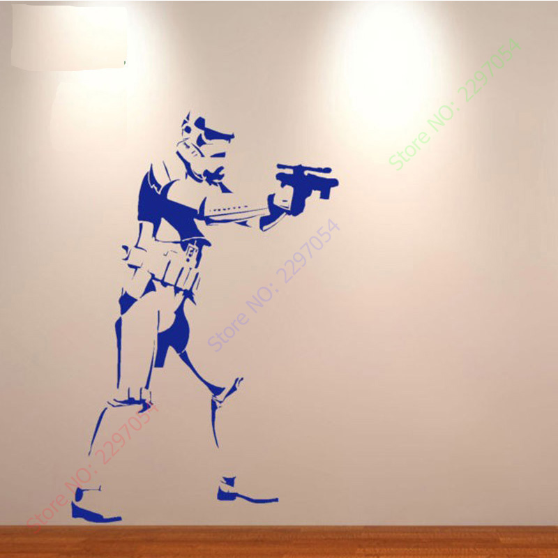 2017 Xtra Lager Storm Trooper Star Wars Poster Vinyl Wall Sticker Life Size  Wall Art Big Mural Wall Art Wall Stickers In Wall Stickers From Home U0026  Garden On ... Part 25