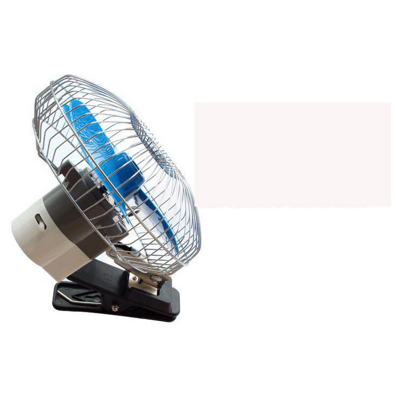 Vehicle Blue Special Car Fans Auto Coolable Oscillating