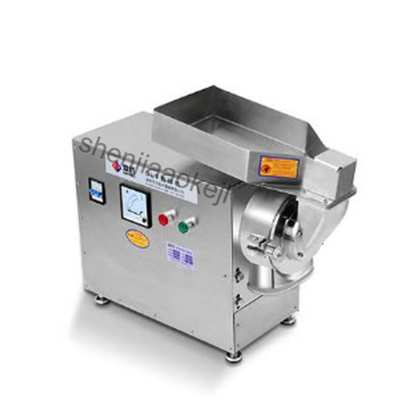 electric grinder Chinese medicine Ingredients crusher powder mixer water mill ultra - fine grinding machine 4800R/MIN  1pc high quality 300g swing type stainless steel electric medicine grinder powder machine ultrafine grinding mill machine