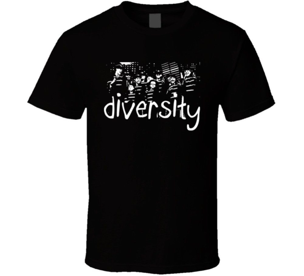 2018 New Fashion Brand Clothing Design Tee Shirt Diversity Britains Got Talent Winners T Shirt O-Neck Streetwear Tees