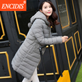 Plus size 2 colors New arrival Winter coat women 2016 New Fashion Female Hooded Parka clothes Lady coats Long and Jacket  M95