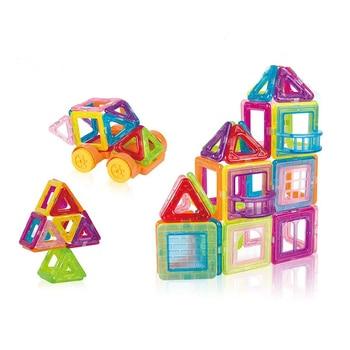 1 قطع قطعة صغيرة الحجم مصمم diy بناء الطوب الطوب أجزاء واحدة التبعي بناء المغناطيس نموذج ألعاب تعليمية 1
