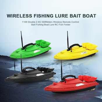 Fish Finder 4 Color RC Bait Boat best for Fishing 5