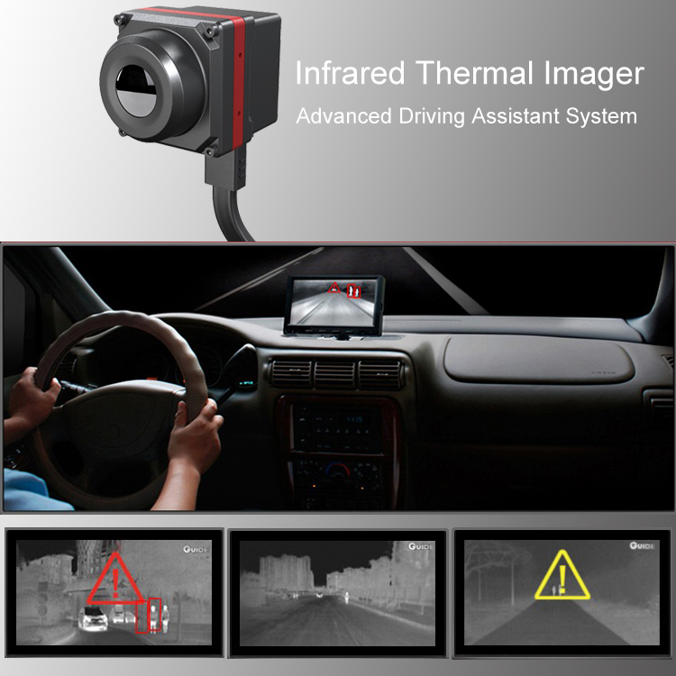Thermal Imaging Camera Car Vehicle Advanced Night Vision Driving System Searching infrared thermal imager 12V 24V flir c2 compact thermal imaging system thermal camera flir c2 infrared cameras