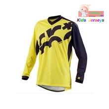 Kids 2019 Long Sleeve Cycling Jerseys MTB Boys Mountain Bike Clothing Motocross Jersey Downhil DH Shirt Girls Ropa