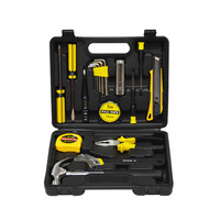 18 pieces of hardware combination toolbox set tool