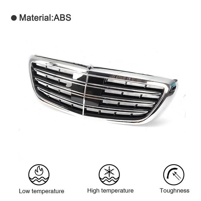 Awe Inspiring Online Shop Car Styling Abs Car Front Grill Grille For Mercedes Benz Wiring Cloud Philuggs Outletorg