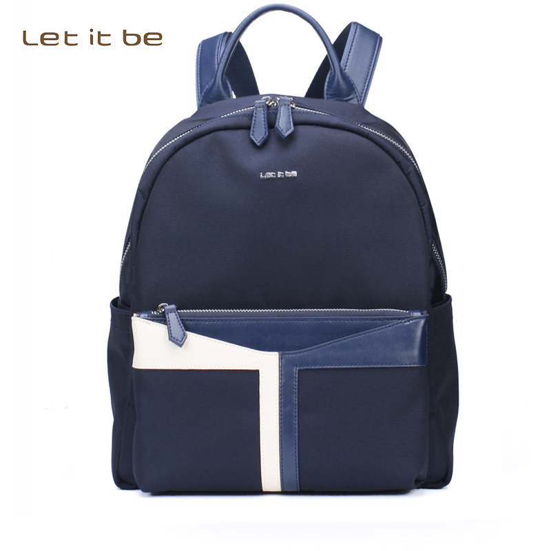 2017 fashion T pattern backpack waterproof women casual day pack school bags for teenagers girls student