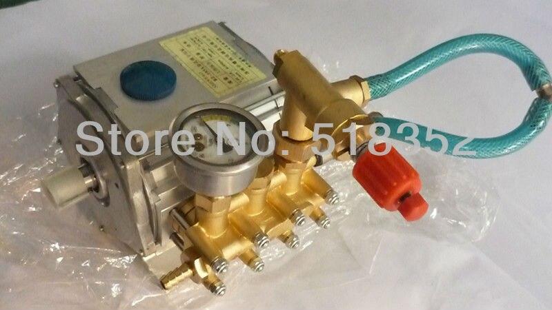 BZ 103A High pressure Triplex Plunger Pump 1.4~2.8L/min at Speed 300~700r/min for Small Hole EDM Drilling Machine