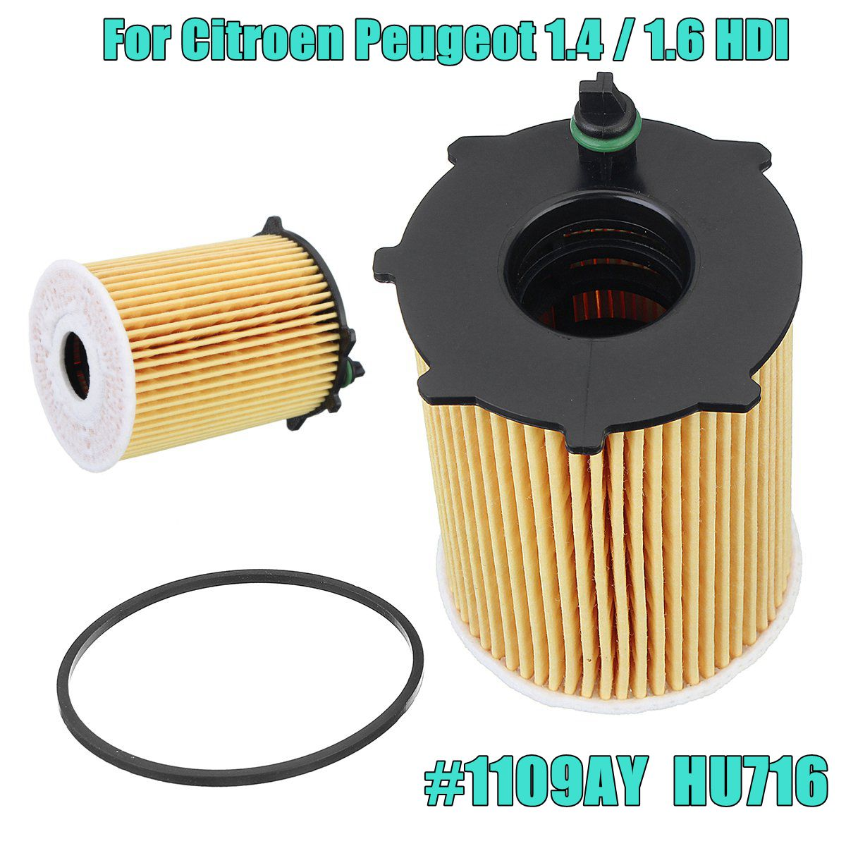 1pc-new-engine-oil-filter-with-gasket-kit-for-citroen-for-peugeot-14-16-hdi-1109ay