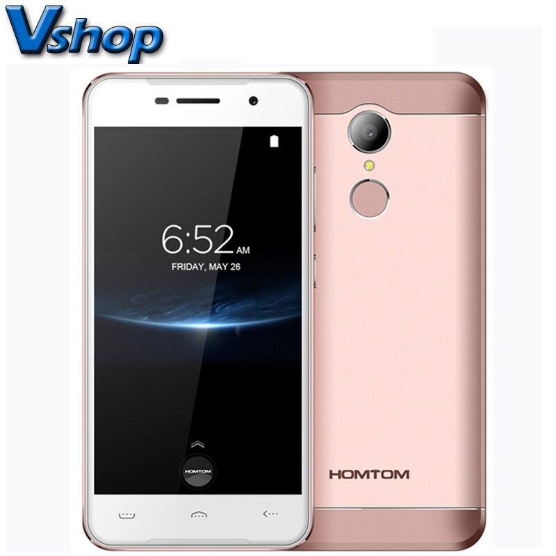 Original HOMTOM HT37 Pro 4G LTE Mobile Phones Android 7 0 3GB 32GB Quad Core Smartphone