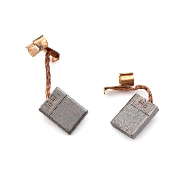 1 paire/2 pièces brosses à charbon 13*3*10mm outil électrique pour Makita CB440 CB448 remplacement