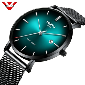 NIBOSI Watch Men Simple Fashio
