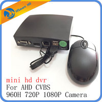 4CH Mini AHD 1080N Micro DVR CCTV Security 5 IN 1 HD DVR Recorder Card For CCTV CVBS AHD 720P 1080P Security Camera