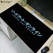 Mairuige Sword Art Online font b Anime b font Logo Super Large Waterproof Mouse Pad 900