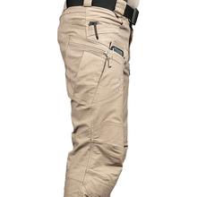 Nowe męskie spodnie taktyczne wielu kieszeni wojskowy miejskie podmiejskich oprzyrządowania mężczyźni na zewnątrz Streetwear Cargo spodnie tanie tanio sifafos Cargo pants Poliester 30 - 42 Safari Style Zipper fly Pełnej długości Mieszkanie Midweight REGULAR Jersey Kieszenie