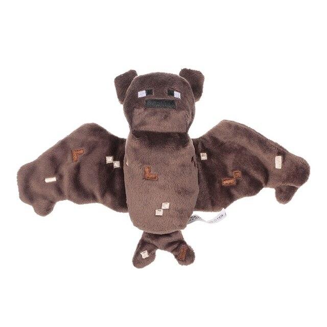 10pcslot 17cm Minecraft Brown Bat Plush Toys Game Minecraft Mc