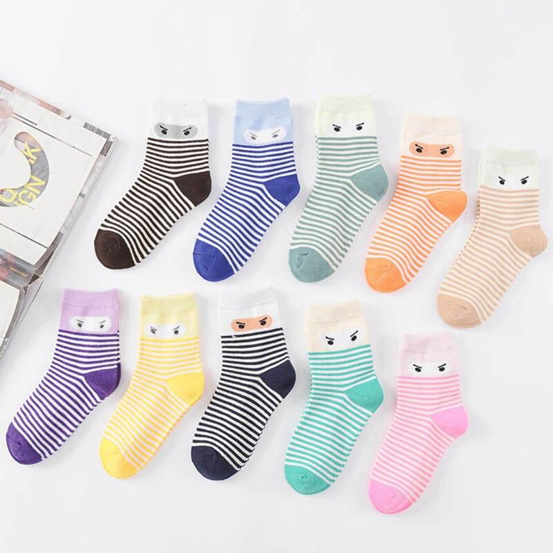 0-12 Years Plus Size Striped Baby Boys Girls Sock 2018 Autumn Children Clothing Cotton Kids socks Cheap Stuff