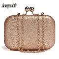 AEQUEEN Fashion Women Shoulder Bags Crossbody Female Gold Clutch Bags Ladies Evening Bag for Party Day Clutches Handbag