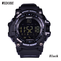 WEDOBE EX16 Sport Bluetooth Smart Watch Xwatch 5ATM IP67 Waterproof Smartwatch Pedometer Stopwatch Alarm Clock LONG