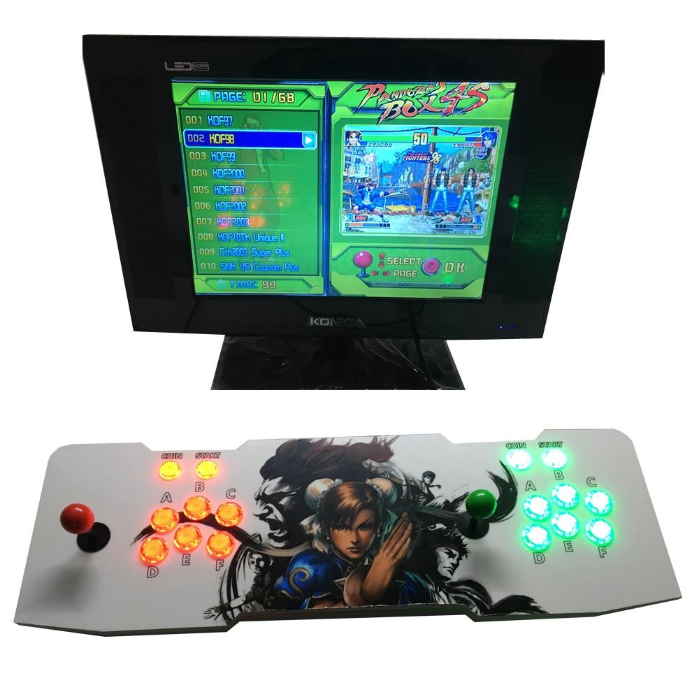 Pandora Box 4 Jamma 680 Games Board 2 Player Arcade Joystick Controller Kits Suitable for LCD TV Games