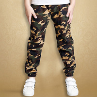 Child Boy Girl Camouflage Trousers Children's Sports Pants Student Spring and Autumn Casual Clothes for 5 10 Years Old Baby Boy