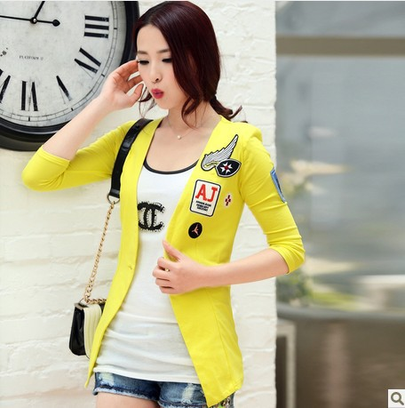 Aliexpress.com : Buy Korean casual jacket Summer girls business ...